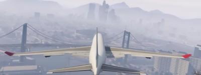 GTA5人人都尝试过的玩法,用最大的飞机撞最高的楼试试